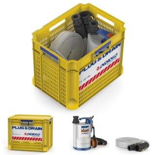 Überflutungsschutz-Set Plug & Drain